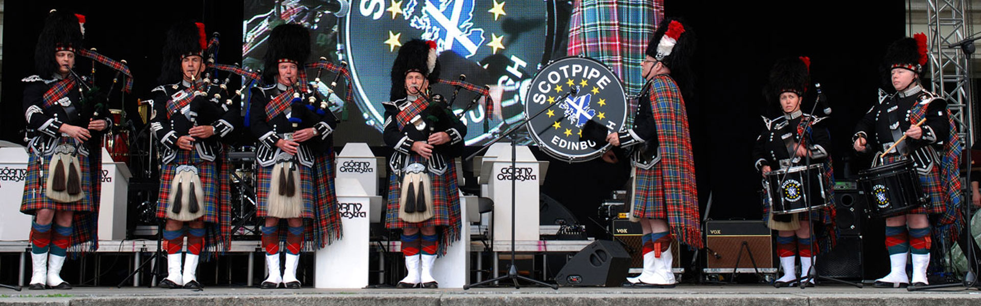 SCOTPIPE Pipe Band